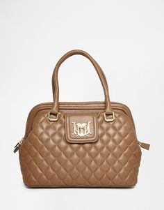 Love+Moschino+Quilted+Handheld+Bag