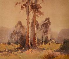 R. W. STURGESS (1892-1932) Twin Gums watercolour