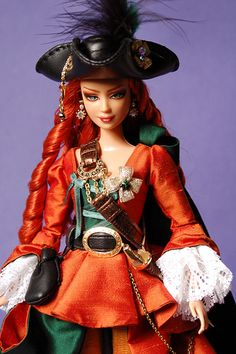 Bettina: Capriccio Veneziano - ooak barbie by idrusa ♥ SineVoce ♥, via Flickr
