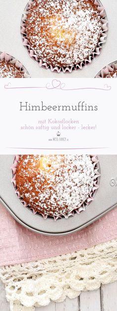 Himbeermuffins mit Kokos missfancy