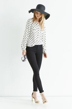 We're all about the boxy boyfriend fit blouse – it's super cool and so easy to wear.