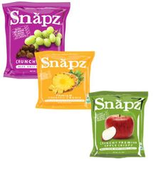 Snapz fruit and vegetable chips