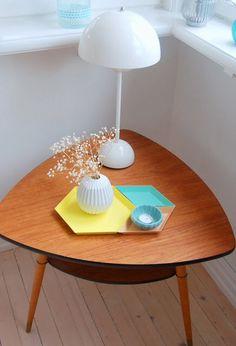 Our Home, http://ellevillamalla.blogspot.no, hay kaleido, Verner Panton, teak
