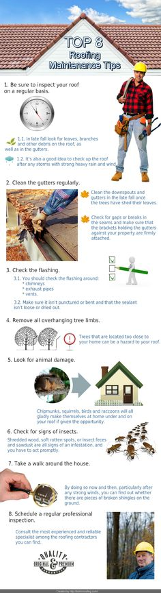 Tips for #Roof #Maintenance