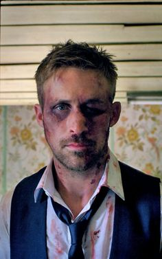 """Ryan Gosling in """"Only God Forgives"""" / beautifully bruised in a silk suit"""