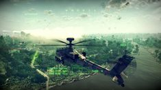 SUPER DYNAMIC GAME ABOUT COMBAT HELICOPTER ! Almost Simulator Apache Air...