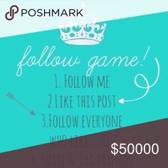 Let the games begin!!! Please like this post and share with as many people! Let's get our followers up!!! Other