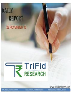 equity-dailytechnicalreport28novemberbytrifid-research by trifid research via Slideshare