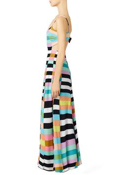 8aee5f58d7f Rainbow Flag Stripe Maxi Dress by Mara Hoffman