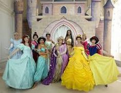 pricess and their beautiful gowns! <3