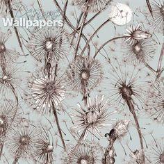 Alexander Meli Dandelions Designer Wallpaper - Free shipping to Lithuania | Designer Wallpapers ™