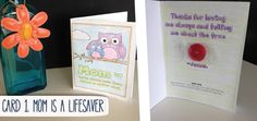 Fun LifeSaver Mother's Day Card!!