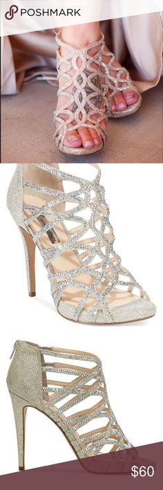 92ca1b3fa1d00a Sharee High Heel Rhinestone Evening Sandals