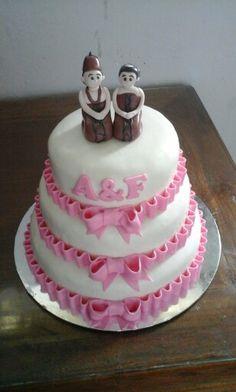Javanese wedding cake