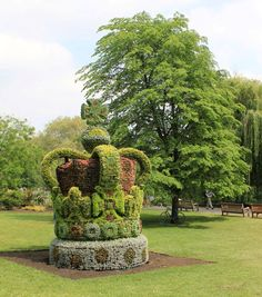 The Floral Crown in St James's Park