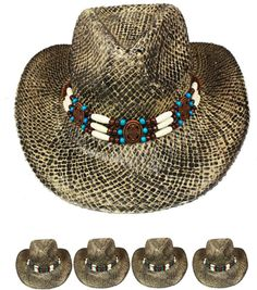 31 Best Western Straw Hats for an enticing eye catching giveaway ... 30e6f54800bb