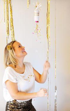 confetti popper DIY