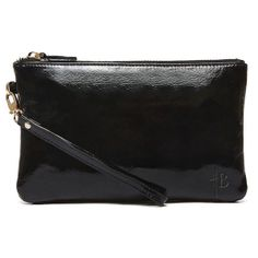 Black Patent Mighty Purse. Available at Splurge 704.370.0082