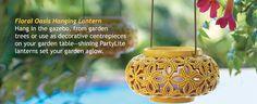 Floral Oasis Hanging Lantern