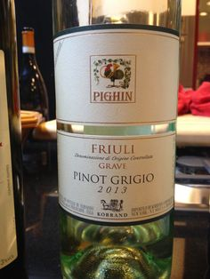 Pinot grigio from the Friuli wine region in the Friuli Grave DOC by producer, Pighin.