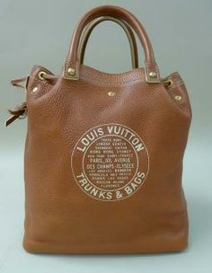 Louis Vuitton Tobago  Mens Runway 2006 Shoe Bag -caramel-
