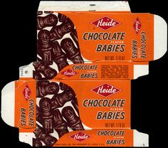 images of 1970's candy | Heide - Chocolate Babies - candy box - 1970's | Flickr - Photo Sharing ...
