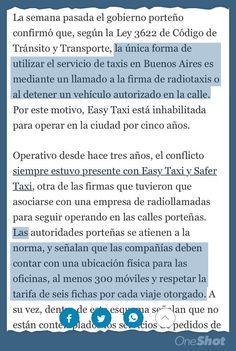 Buenos Aires no sólo prohíbe a Uber sino a Internet para tomar taxis