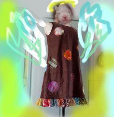 Cool Linen A line  Slip on Summer Dress  Kneidl by KKneidlcouture