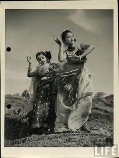 Vintage Indian Dance