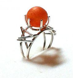 Achátový prsteň by PetoValentovic - SAShE.sk - Handmade Prstene Budúcnosť 8944225f25