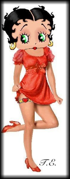 Betty Boop....no girl you didn't!