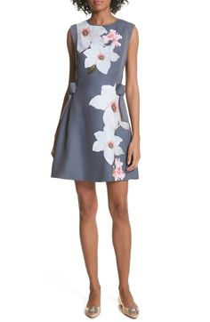 9e004bdd2dd3ab Ted Baker London Chatsworrth A-Line Dress