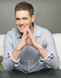 If you aren't in love with this man... I don't know what the hell is wrong with you. MICHAEL BUBLE<3