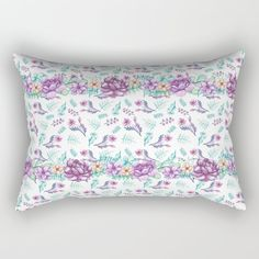 Buy Purple peonies elegant watercolor Rectangular Pillow by augustinet. Worldwide shipping available at Society6.com. Just one of millions of high quality products available. Down Pillows, Bed Pillows, Purple Peonies, Accent Pillows, Pillow Inserts, Comforters, Duvet, Tapestry, Watercolor