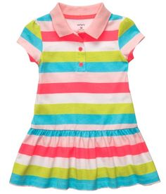 Carters 2pc. Polka Dot Polo Dress Set - List price: $18.00 Price: $10.99 Saving: $7.01 (39%)