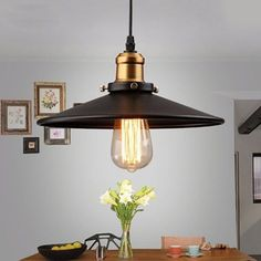 Retro-vintage-suspension-Metal-Spot light-industrial-ceiling-lamp-Lighting by zazooing Industrial Pendant Lamps, Lamp, Pendant Lamp, Loft Style Pendant Light, Lamp Light, Bathroom Ceiling Light, Roof Light, Pendant Lighting, Loft Style