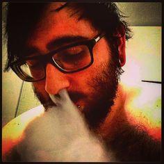 I tend to see the bright side on life #subohmsquad #vaper #vapehard #vapeporn #vapelyfe #vapestagram #vapehooligans #vapebeard #guyswithbeards #guyswithtattoos #guyswithbodymods #guyswithsglasses #guyswithstretchedlobes #12022015 #takenbythebestwomanever #rx200 #cloudchaser #fileronfleek #beardgrowth #jessicaelizabethwalls # by im_jessicas_han_solo