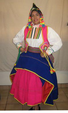 Peruvian Typical Dresses / Trajes Tipicos Peruanos: Moquegua, campesina