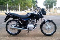 Titan 150 CC Preto  Motocycles: Foto: FP