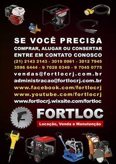 fortloc 2017 fortlocrj locação venda e manutenção de equipamentos para construção civil e indústria - máquinas, ferramentas, peças e acessórios - Rio de Janeiro - RJ