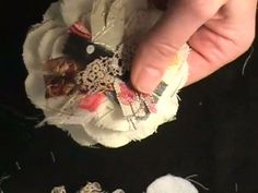 A Video Tutorial -- Shabby Fabric Flower ♡ by Roben-Marie Smith on Vimeo.