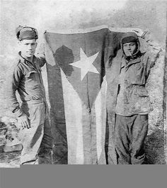 The Infantry Regiment, US Army from Puerto Rico, also know as The Borinqueneers played an important role in the Korean War. Thank you Tio Fruto for your service. Puerto Rican People, Puerto Rican Flag, Latina, Puerto Rico Pictures, Puerto Rico Food, Puerto Rico History, Puerto Rican Culture, Puerto Rican Recipes, Korean War