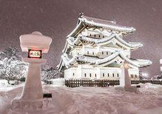 いいね!144件、コメント0件 ― Hirosi Nakatubo(@hirosinakatubo)のInstagramアカウント: 「#弘前城 #城 #青森県 #雪 #写真好きな人と繋がりたい #ファインダー越しの私の世界 #nikond500 #light_nikon」 Shiro, Big Ben, Castle, Building, Instagram, Buildings, Castles, Construction