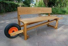 Portable Garden Bench