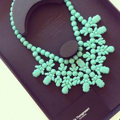 Love this statement necklace thanks to @runin2_PR - @chiaraferragni- #webstagram