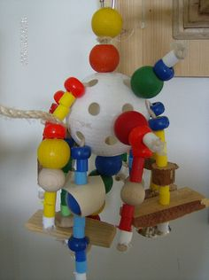 Homemade Parrot Toys | Parrot Forum • View topic - Homemade tree and toys