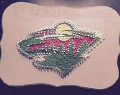 Minnesota Wild String Art