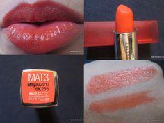 Maybelline Bold Matte Lipstick in MAT 3