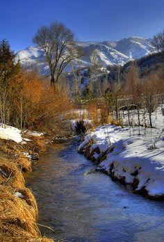 Alpine Stream by James Neeley, via Flickr
