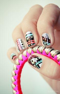 Tribal nails pshiiit d